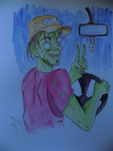 Taxi-zomb